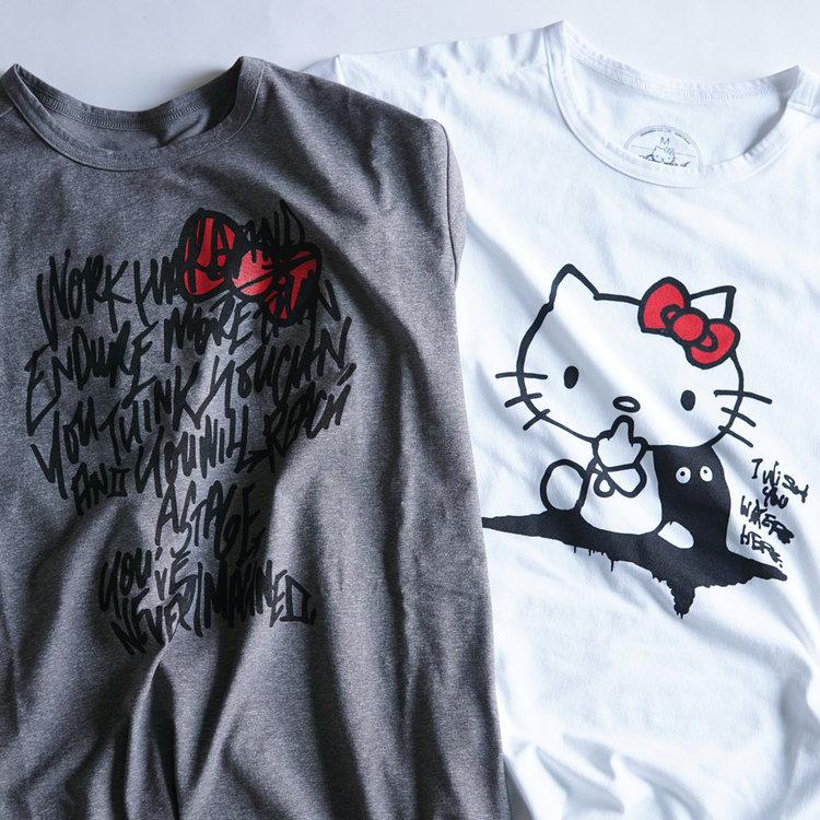 "Answer4(アンサーフォー)/""HELLO KITTY"" Tshirt"