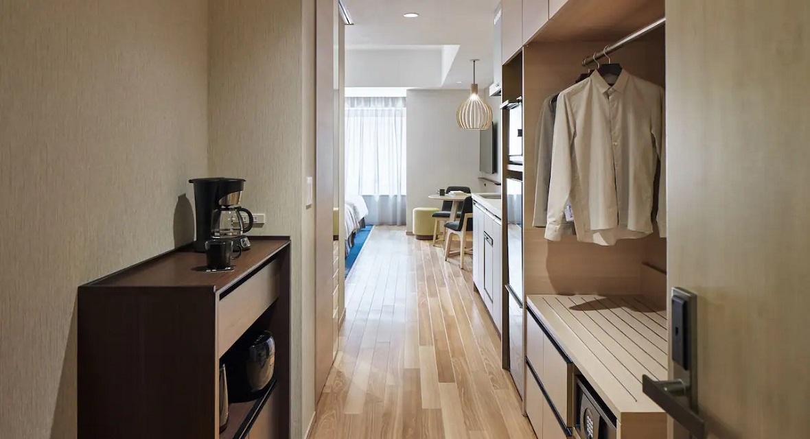 [30連泊]キッチンスタジオルーム(約41平米)1~2名利用プラン【1泊1室につき1名様の朝食が無料】