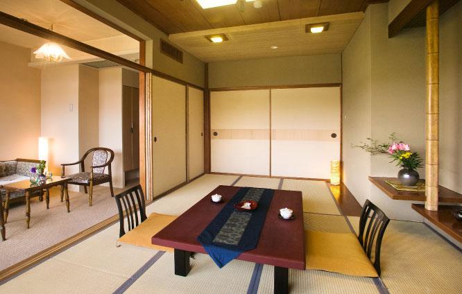 [12泊]6連泊(日~金)×2週 一般客室(和室10畳、又は和洋室6畳+ベット) 1名利用プラン
