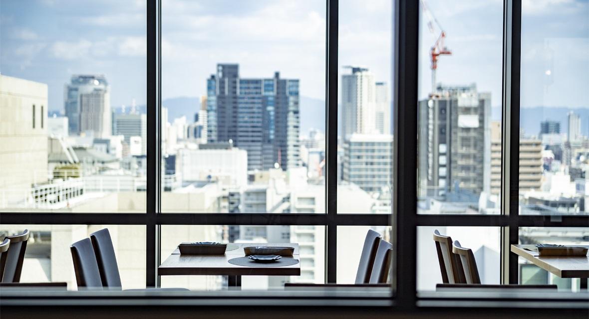 【MIDO RESTAURANT「ピクニカ」】レストランからの眺望
