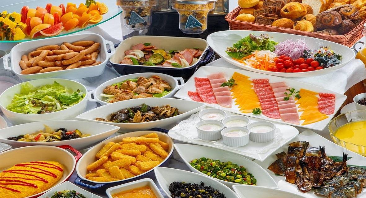 【オプション朝食】和洋折衷の朝食バイキング(Taberna AZUL) ※写真はイメージ