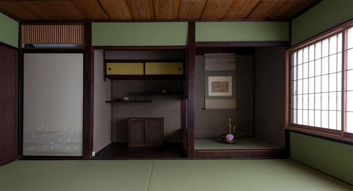 【和室6畳】京町家の風情漂う床の間