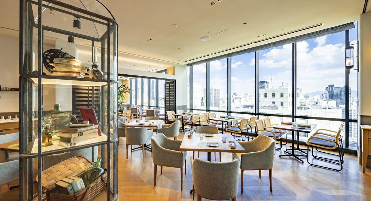 【MIDO RESTAURANT「ピクニカ」】本格的で遊び心ある新・大阪グルメに、ライブキッチンでの華麗な調理。