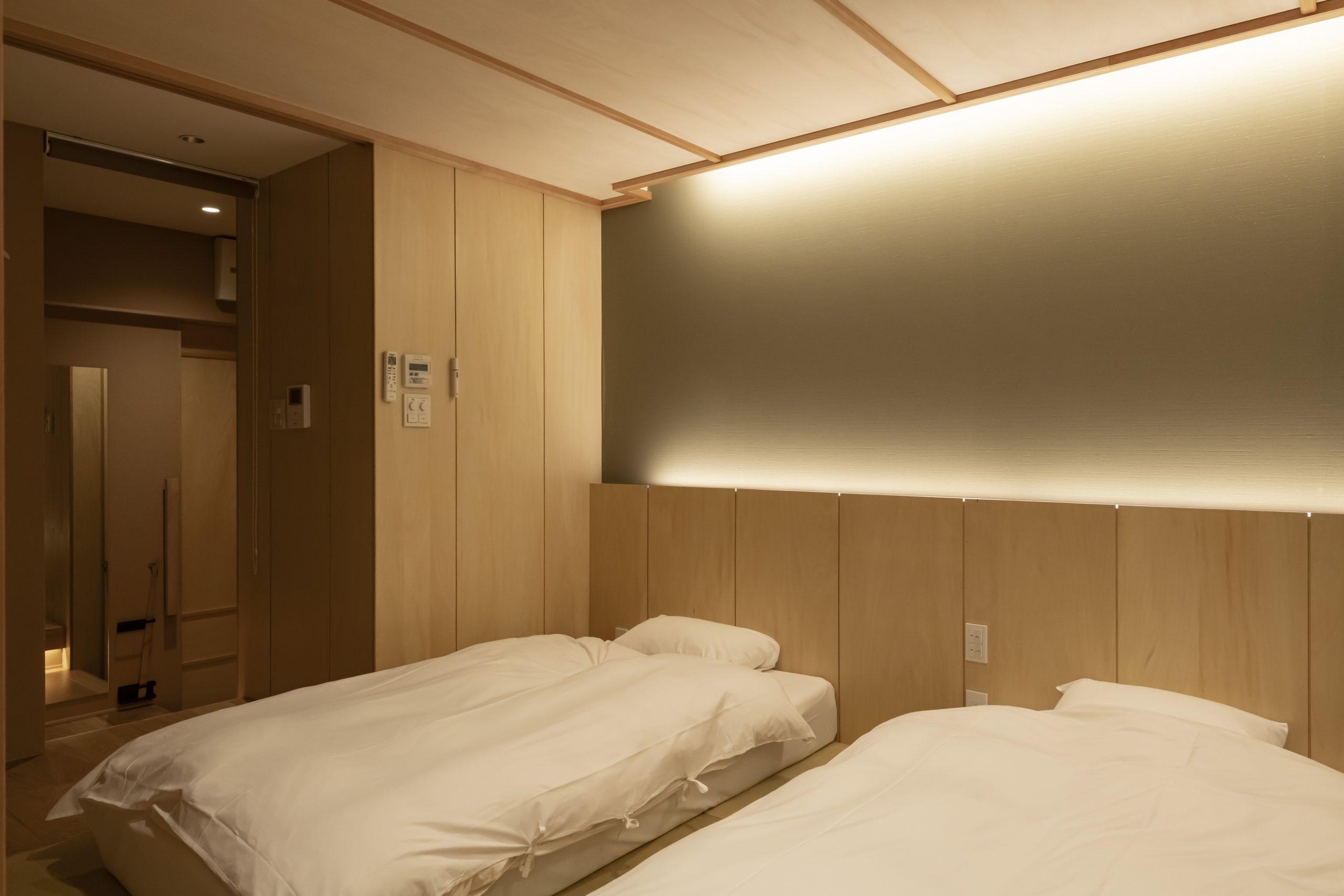 [6泊]6連泊(日~金)×1週 京町家檜風呂付和室 1~2名利用プラン