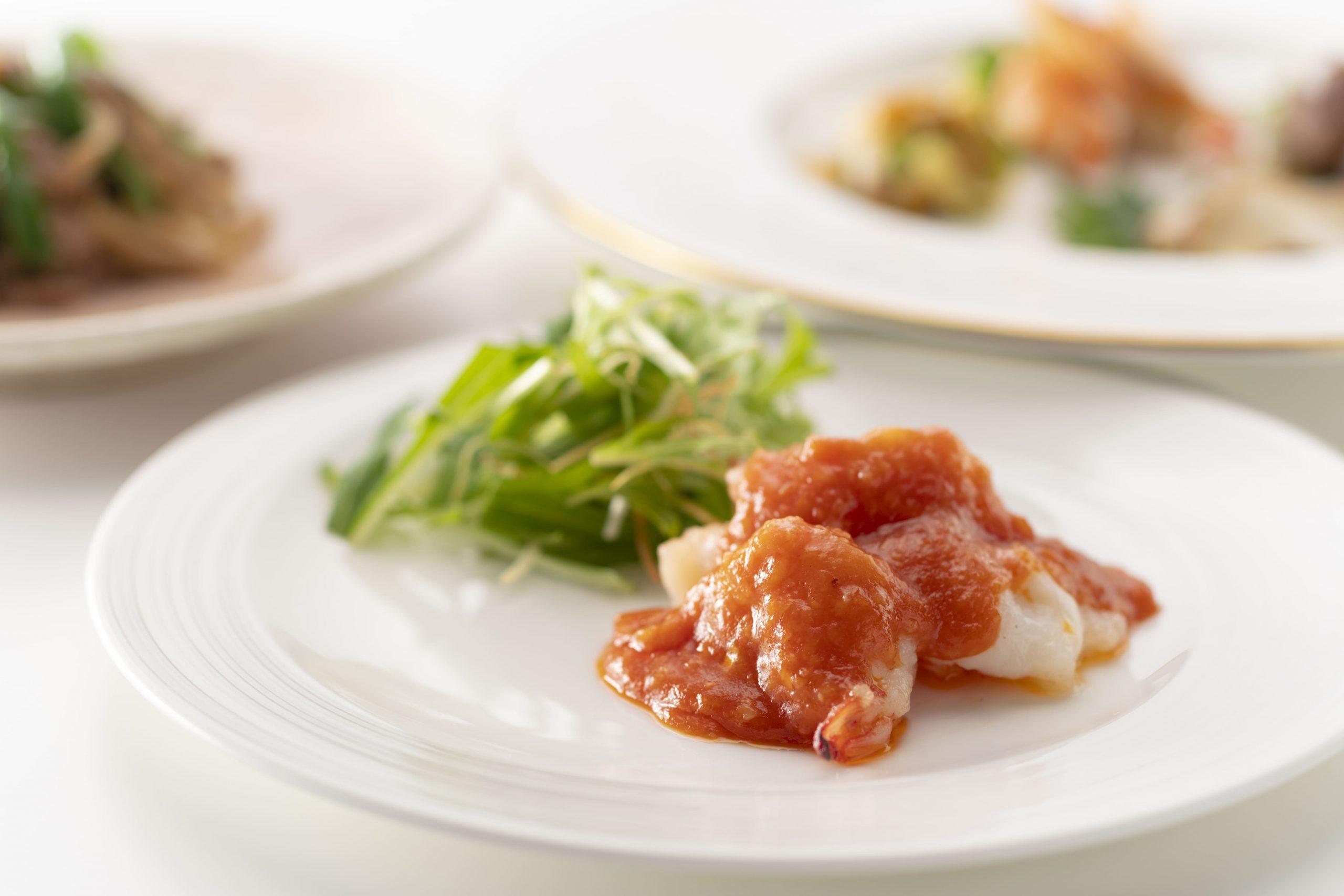中国料理「星ヶ岡」:和食と中華、洋食と中華といった異なる食文化とのコラボレーションメニューの数々(ランチイメージ)