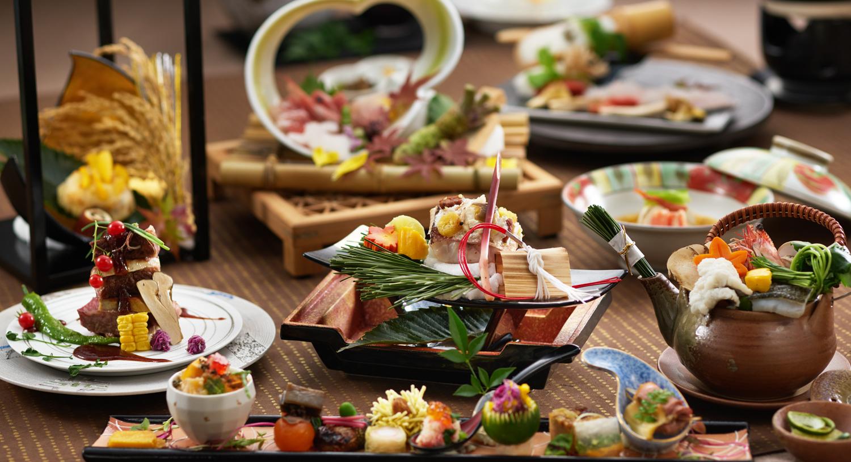 【オプション夕食料理イメージ】本格的な純本会席スタイルで味わう