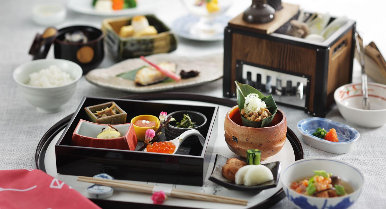 朝食でも料理人の趣向を凝らした逸品が並ぶ「和定食」 専用の食事処でお召し上がりください