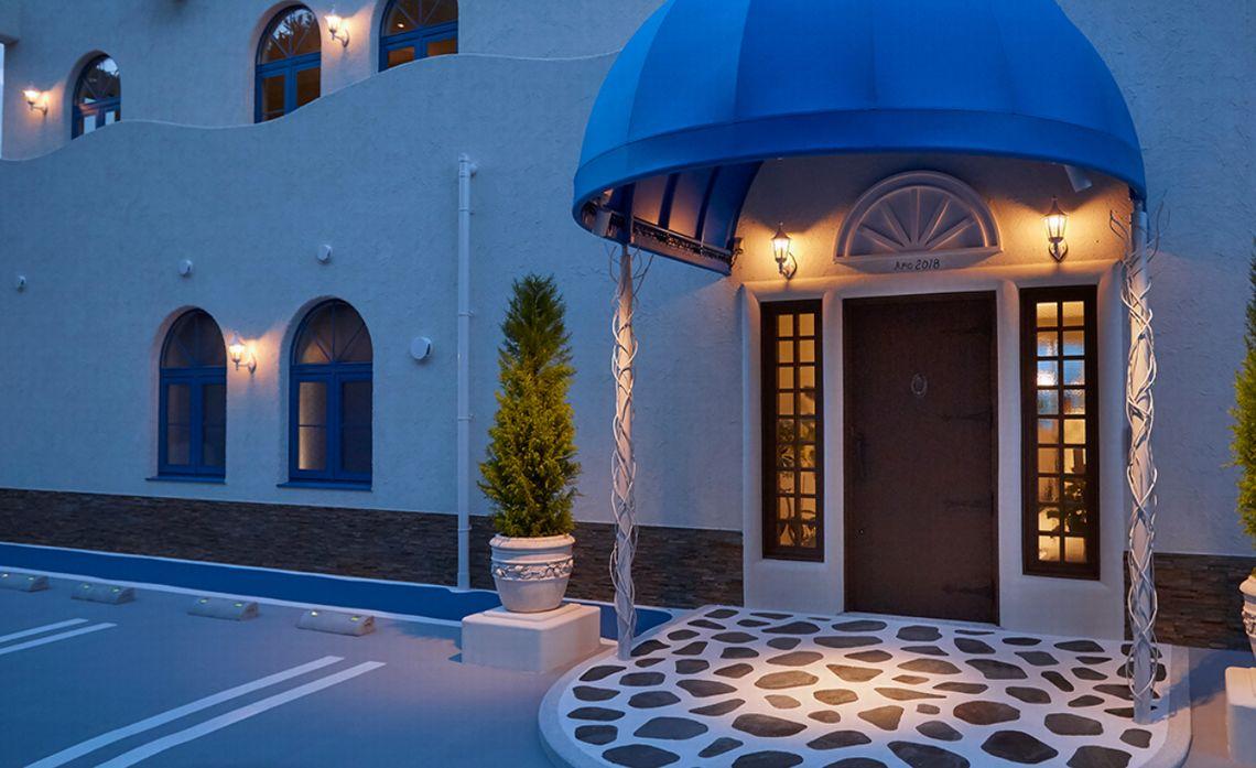 日本とは思えない、ギリシャのエーゲ海にあるホテルを想い体感していただけるリゾートホテルです。
