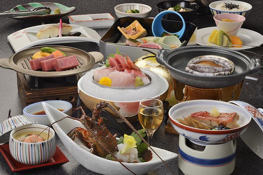 夕食オプション「磯会席料理グレードアップ」イメージ