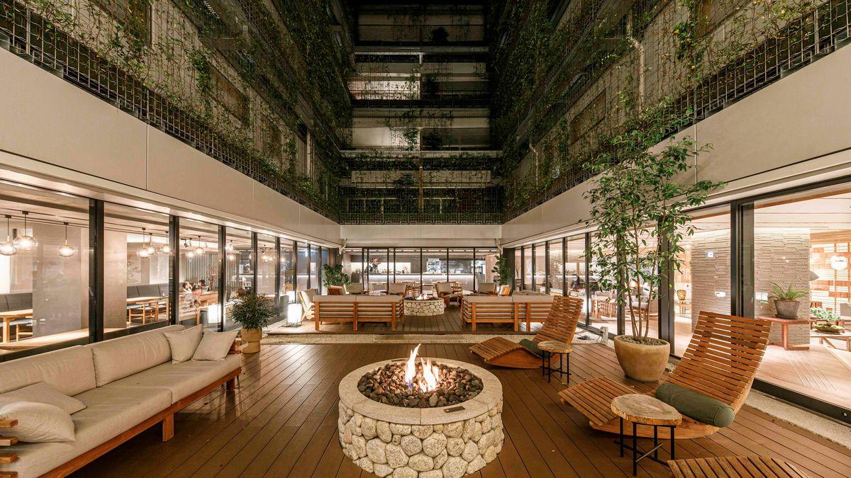 GOOD NATUREに包まれ、触れ、 五感で楽しめるホテルです