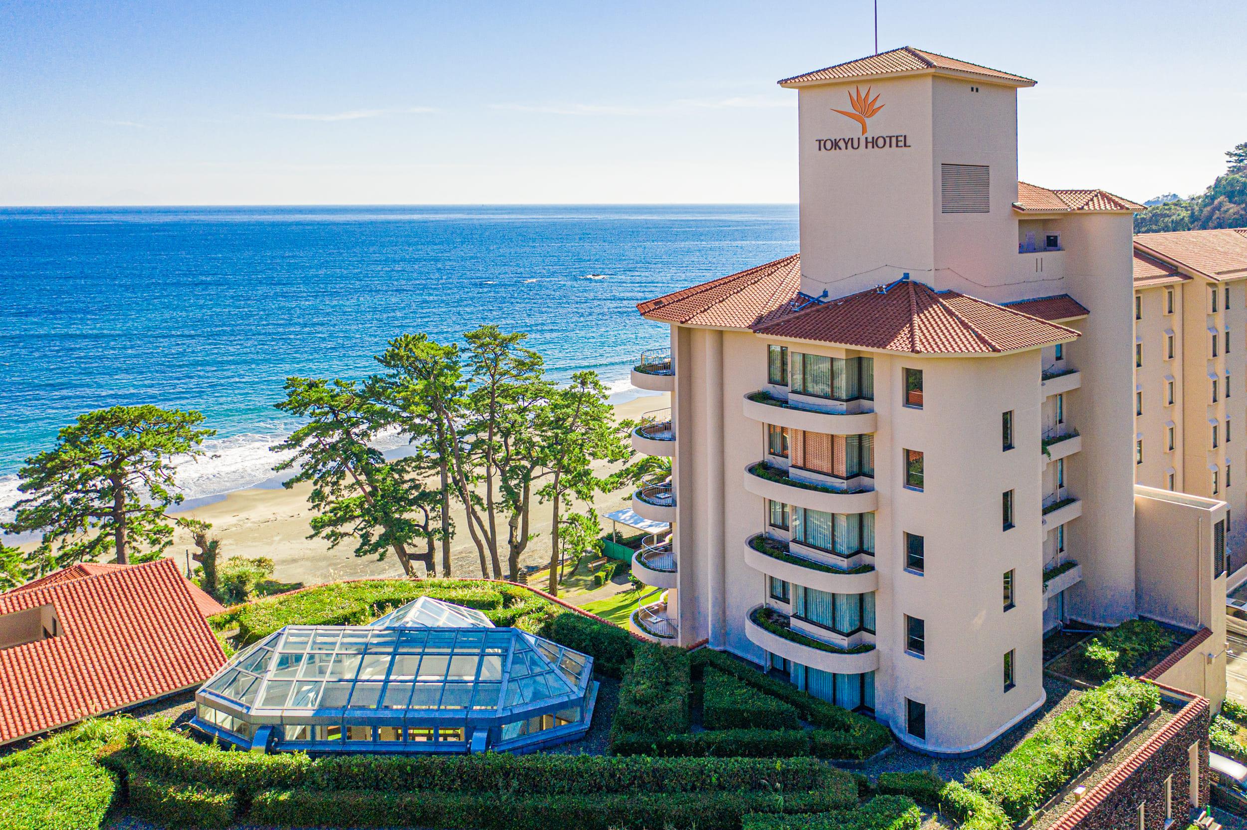 ときめきとやすらぎが連続する今井浜と伊豆の海を望むオーシャンビューが魅力のリゾートホテル