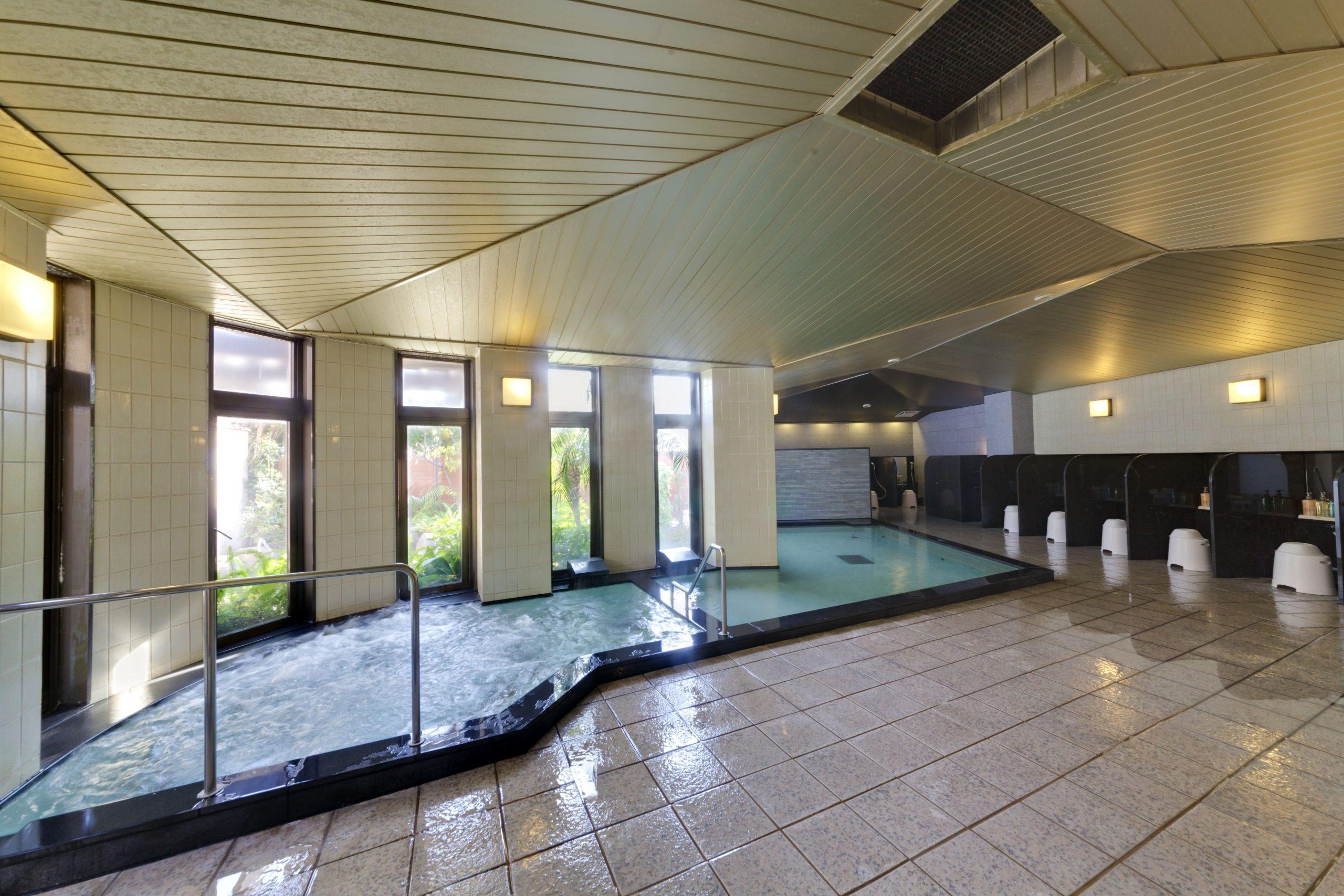 内風呂イメージ 当ホテルの温泉は関節痛/神経痛/慢性消化器病への効能も期待できます