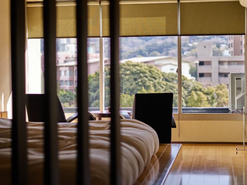 [12泊]6連泊(日~金)×2週 和モダンルーム(38平米) 1名利用プラン