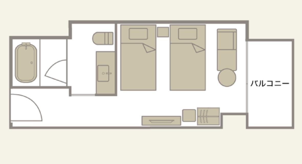 [30連泊]スタンダードフロア スーペリアツイン(23平米) 1~2名利用プラン