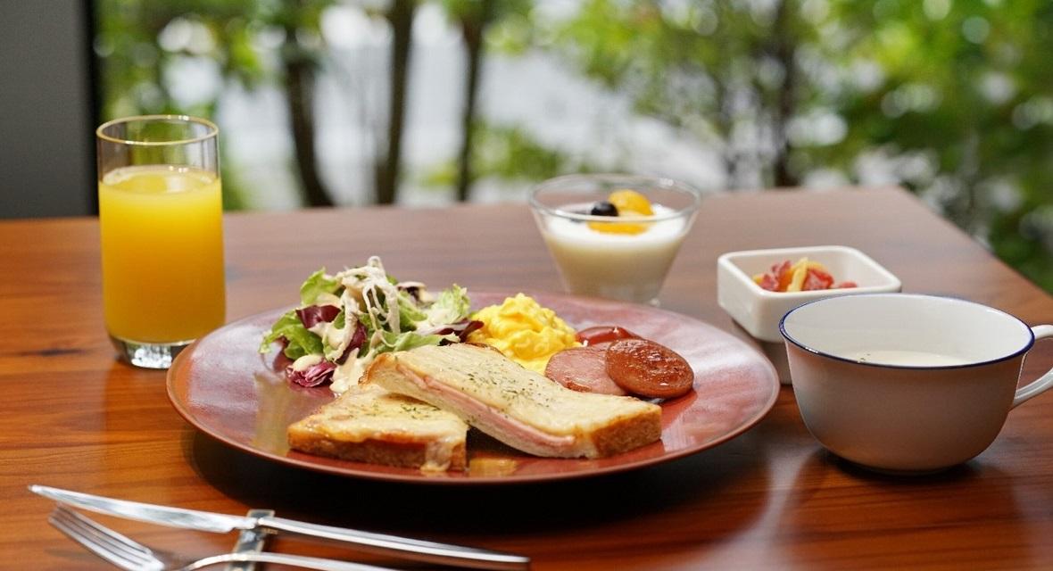 【オプション】朝食イメージ(洋食):1,800円(税サ込)