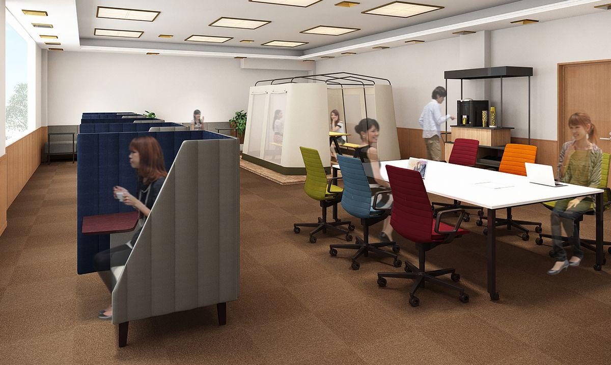 2021年6月9日(水)に、ワーケーション等に活用いただける「コワーキングスペース-Satoyama Office-」をOPENいたしました