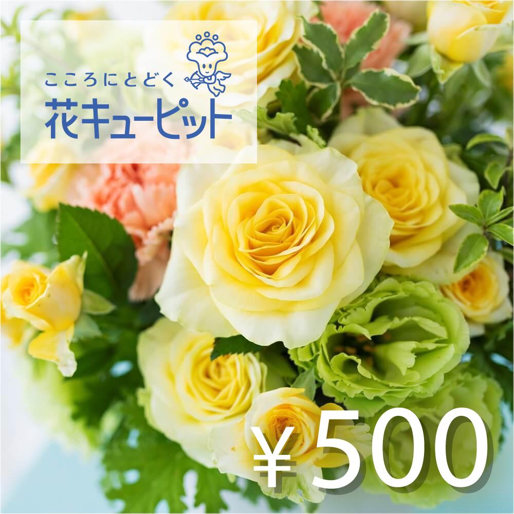 全国共通 花とみどりのeチケット 500円