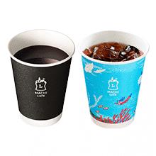 【お持ち帰り限定】MACHI café ホットコーヒー(S)またはアイスコーヒー(S)(税込100円)無料引換券