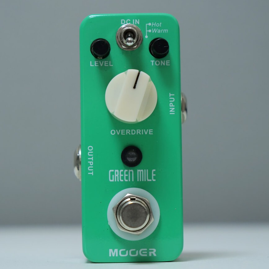 Mooer Green Mile オーバードライブの商品写真