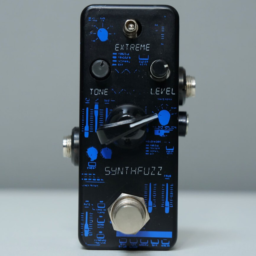 F-PEDALS Synthphonia ファズ/フィルター