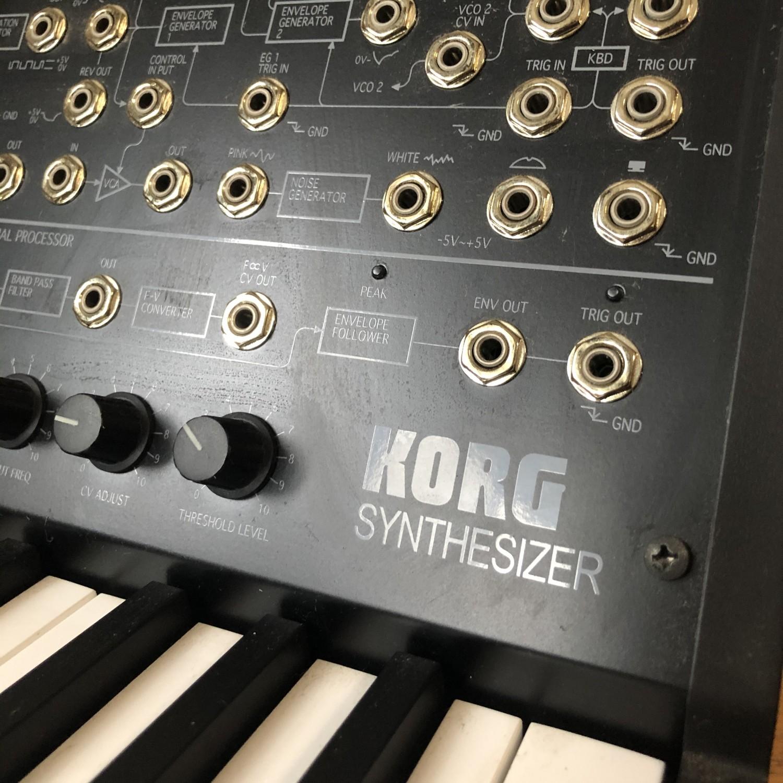 KORG MS-20 miniの商品写真