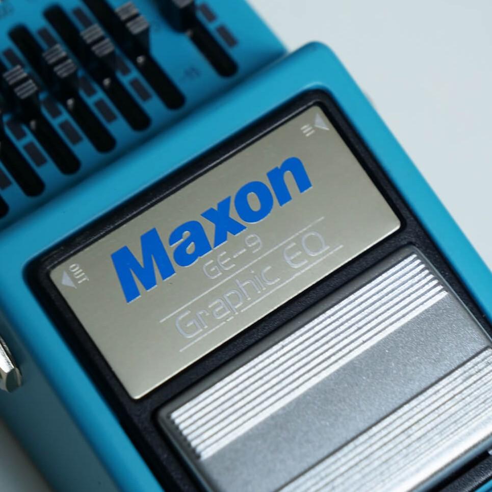 Maxon GE-9 Graphic EQ