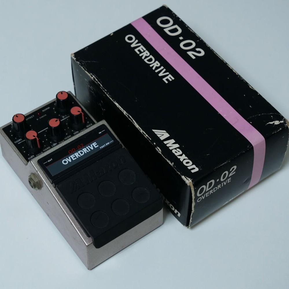 MAXON OD-02 OVERDRIVEの商品写真