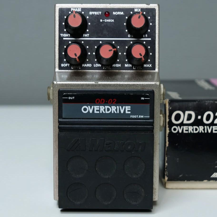 MAXON OD-02 OVERDRIVE