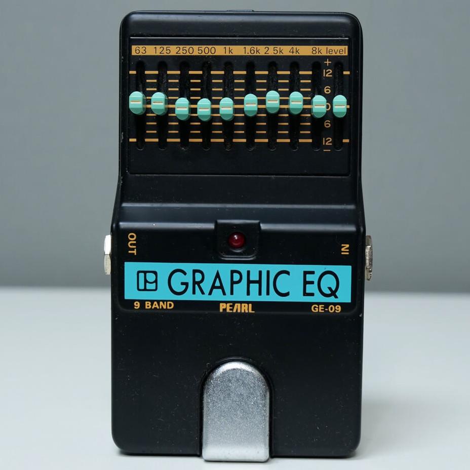 PEARL GE-09 Graphic EQ
