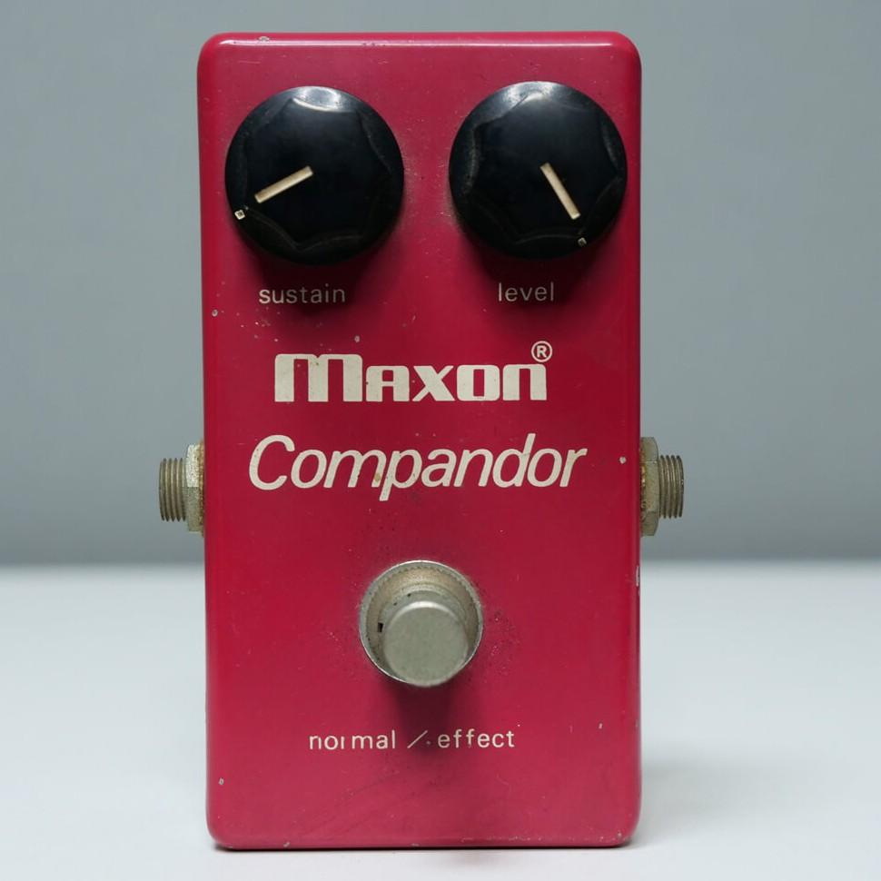 MAXON Compressor ビンテージ(DC IN無)