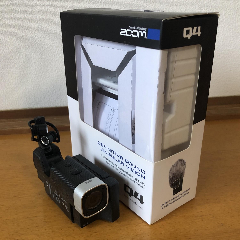 ZOOM Q4 ビデオレコーダー