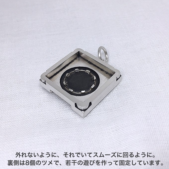 CDJモチーフの可動式ペンダントの商品写真