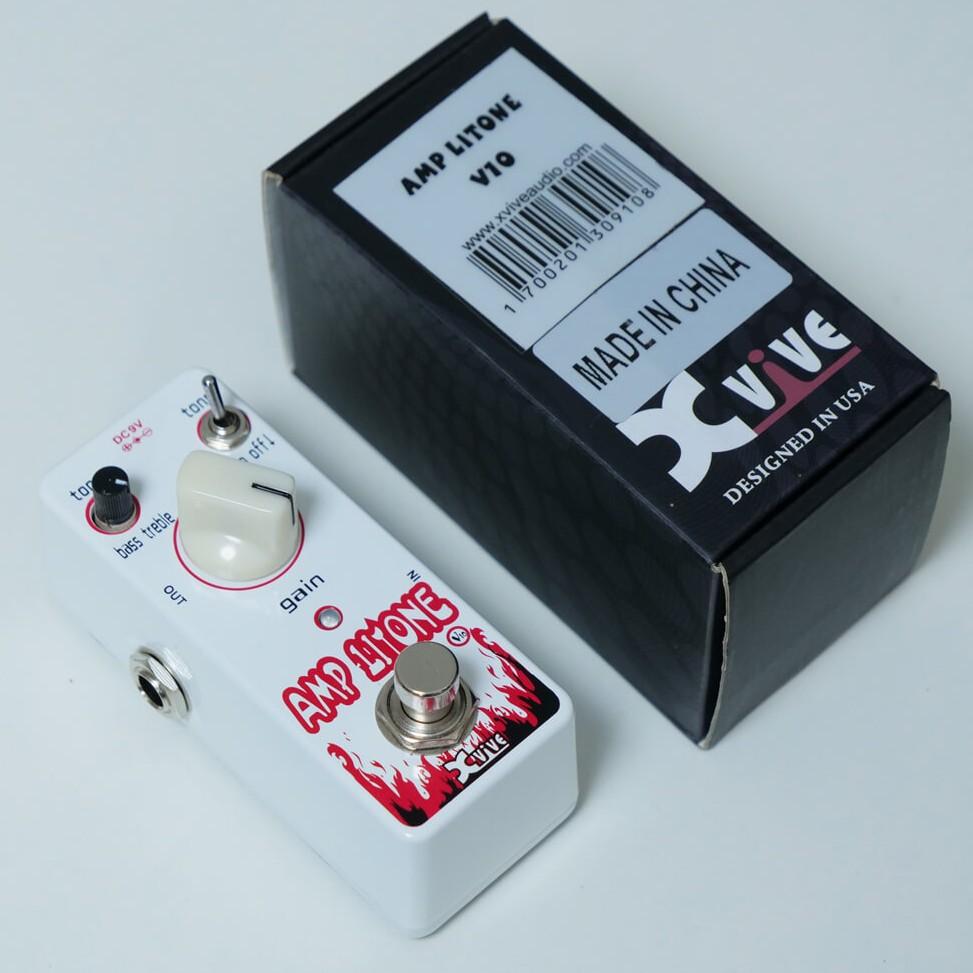 XVIVE AMPLITONE WHITE XV-V10 ブースターの商品写真