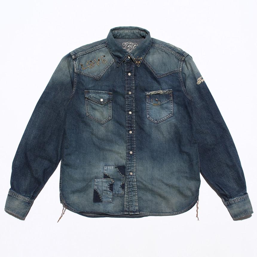 デニムのジャケット