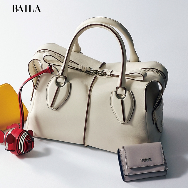 【トッズ(TOD'S)】の春新作はコンサバティブで品のよいバッグ&財布