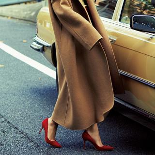 土曜日は「赤の靴」と「黄色の靴」でおしゃれリフレッシュ!