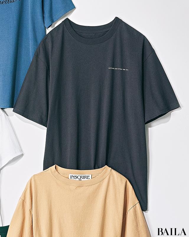 【辛め派・Tシャツ7選】大人スポーティTシャツでギャップのある女性らしさをアピール!