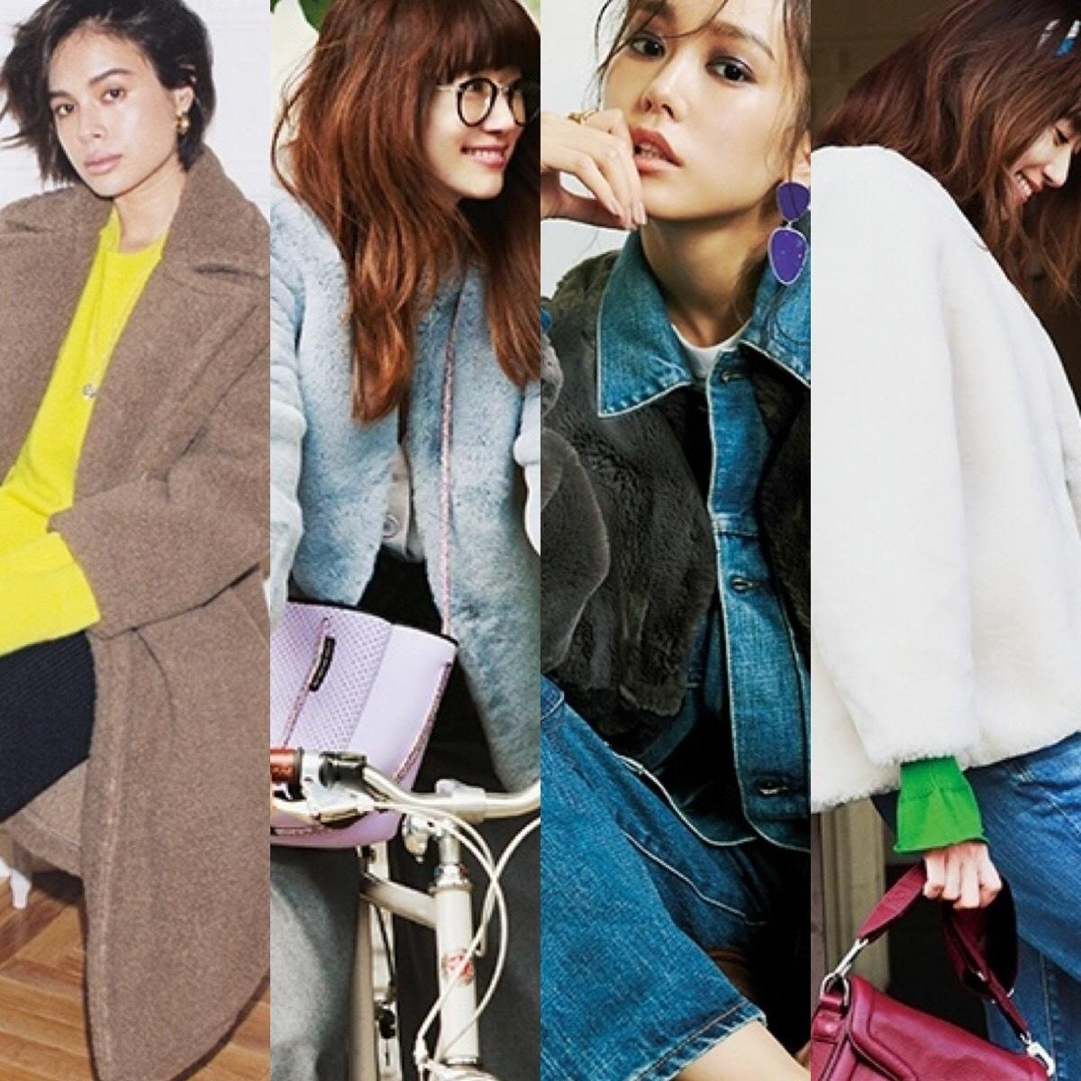 モコモコ可愛い♡【30代のファーコート】大人コーデ15選 30代レディースファッション