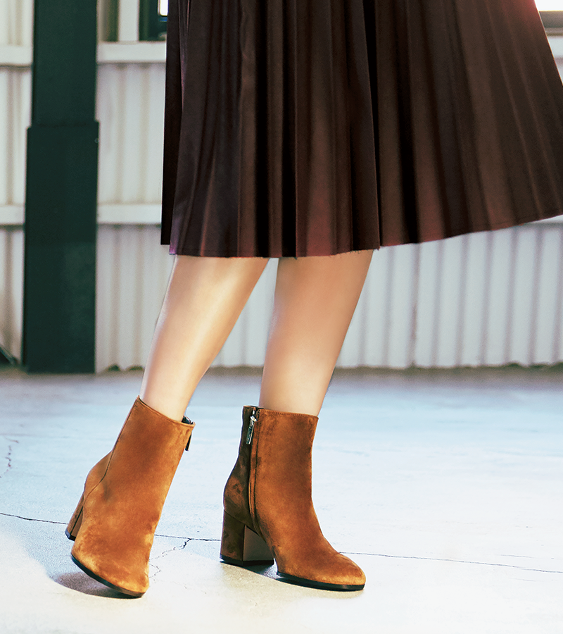 ブーツはいまが買いどき。毎日履きたくなる無敵のブーツは色、丈、素材で選ぶ