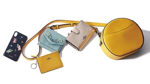 愛嬌たっぷり♥【コーチ(COACH)】のバッグ&ミニ財布&スマホケース