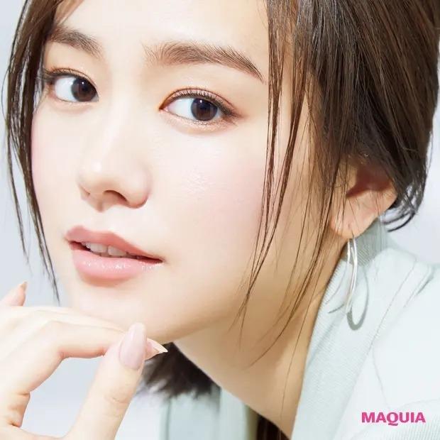 桐谷美玲さんが魅せる! ミルキーベージュで作る涼しげフェミニン顔