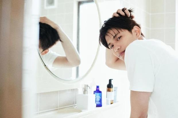 森崎ウィンさん「仕事のあとはしっかり洗顔しています!」
