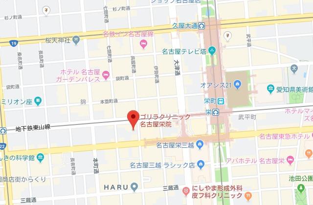 ゴリラクリニック 名古屋栄院