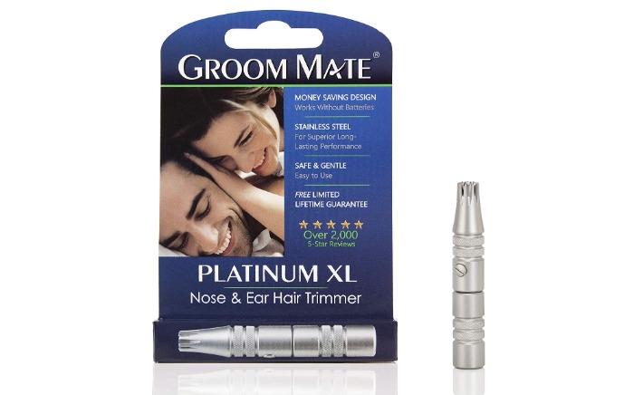 グルームメイト 鼻毛・耳の毛カッター プラチナ XL 25400
