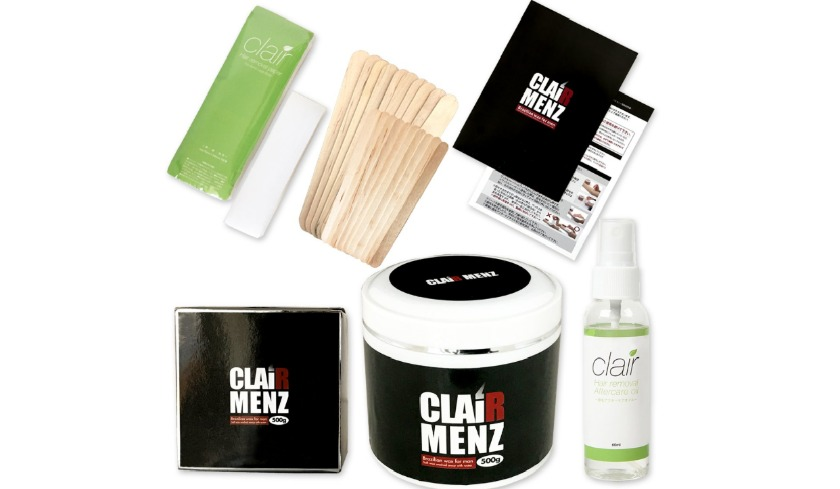 clair-menz-set ブラジリアンワックス スターターキット