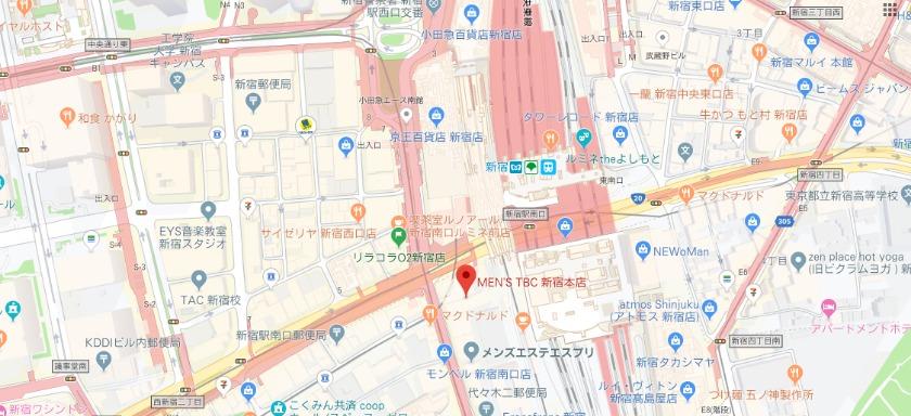 メンズTBC 新宿本店
