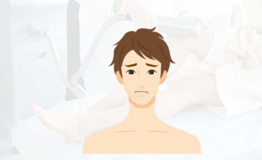 脱毛可能な肌荒れ