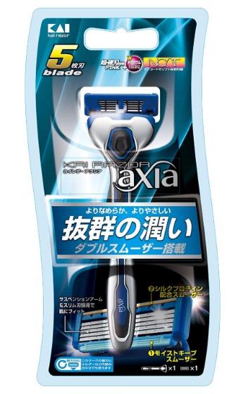 KAIRAZOR axia ホルダー (替刃1コ付き)