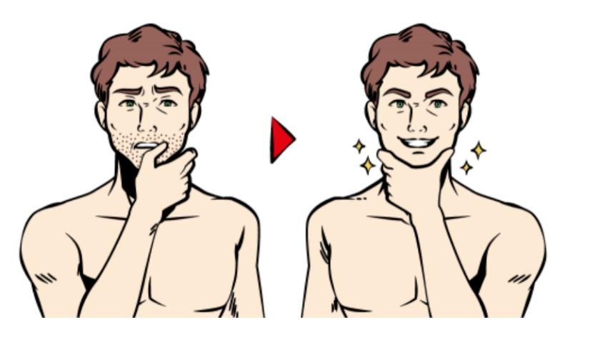 抑毛(脱毛)石鹸の効果と仕組み