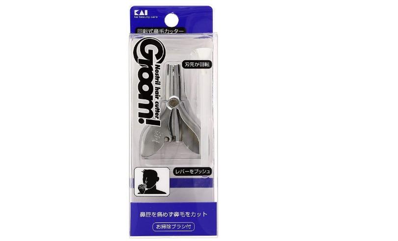 貝印 Groom 回転式鼻毛カッター